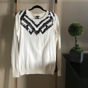 NWT Express sweater with sequin detail. Size L.